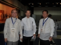 PTC Deputy Exec. Direc. with the newly conferred APEC Engineers Engr. Antonio Acupan (PICE) and Robert Ajaban (PSSE)